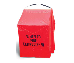 Brooks Vinyl Wheeled Fire Extinguisher Cover